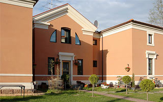 Reminiscences of Palladio. Private House. Saint-Petersburg. 2003